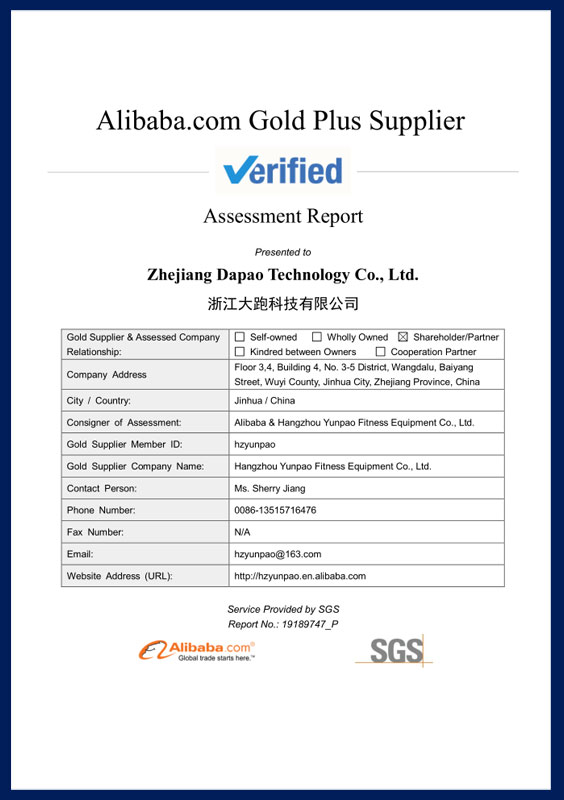 Informe de evaluación del proveedor